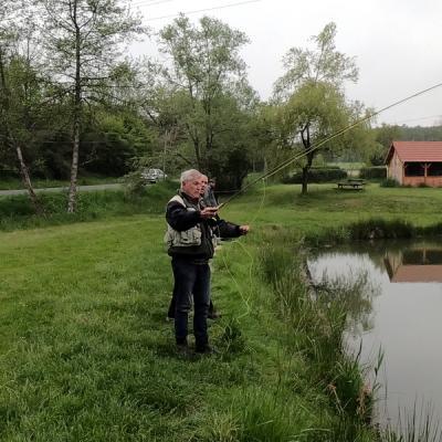 Atelier apprentissage  de pêche à la mouche
